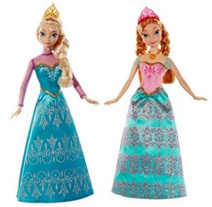 disney frozen elsa and ana dolls