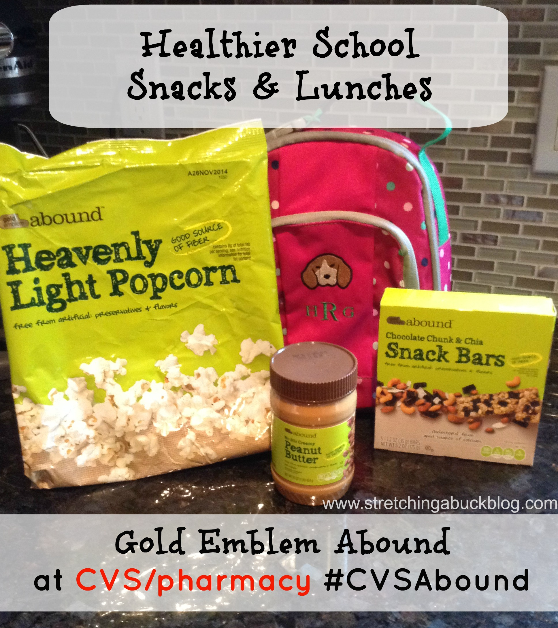 Giveaway: Healthier Lunches with Gold Emblem Abound #CVSAbound #spon