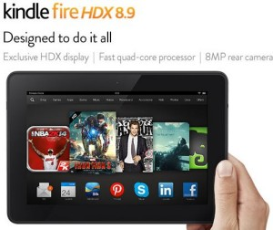 kindle fire hdx one day sale