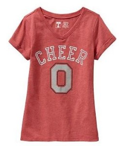 old navy college tee shirts sale