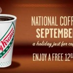 Thumbnail image for Free Krispy Kreme Coffee for National Coffee Day (9/29/14)