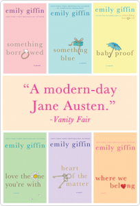 emily giffin kindle book sale