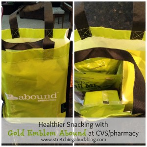 healthier snacking on the go gold emblem abound cvs pharmacy