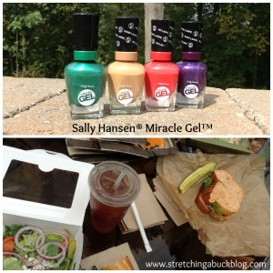 sally hansen mircale gel product review