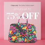 Thumbnail image for Vera Bradley Outlet Sale | Save Up To 75% Today