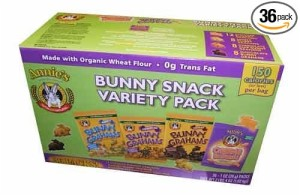 Thumbnail image for Annie's Bunny Snacks Variety Pack for $0.43 Per Bag