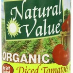Thumbnail image for Save Extra 25% on Natural Value Organics | Diced Tomatoes for $1.88 Each Shipped