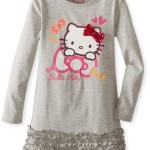 Thumbnail image for Hello Kitty Little Girls Bow Dress for $16.66