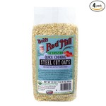 Thumbnail image for Bob's Red Mill Organic Quick Cook Steel Cut Oats for $3.15 Each Shipped