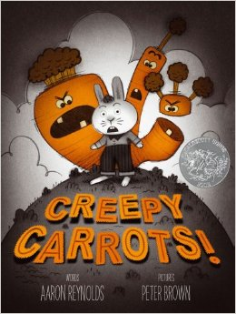 creepy carrots halloween books for kids