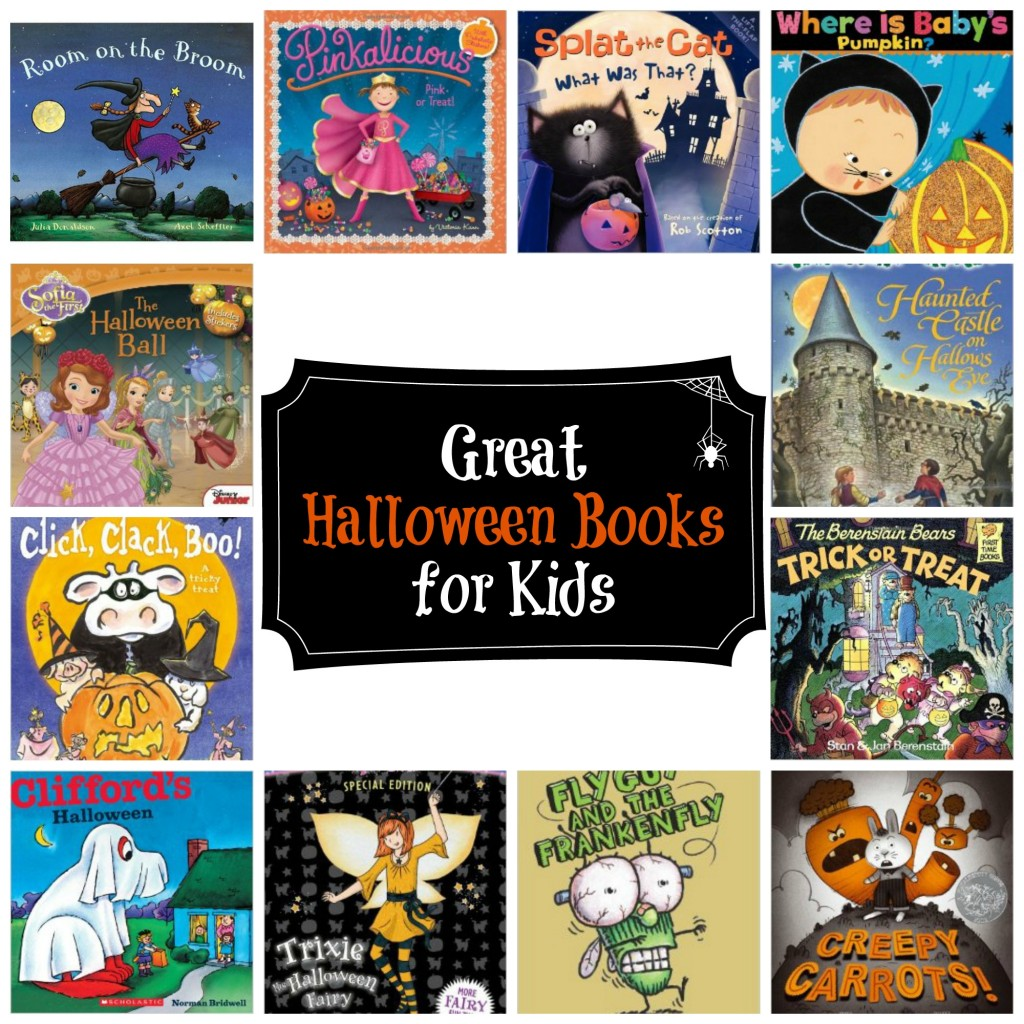 great halloween books for kids list