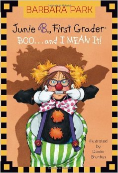 junie b boo and i mean it halloween books for kids