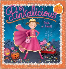 pinkalicious pink or treat halloween books for kids