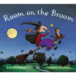 room on the broom halloween books for kids