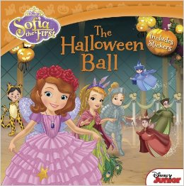 sofia the first halloween books for kids