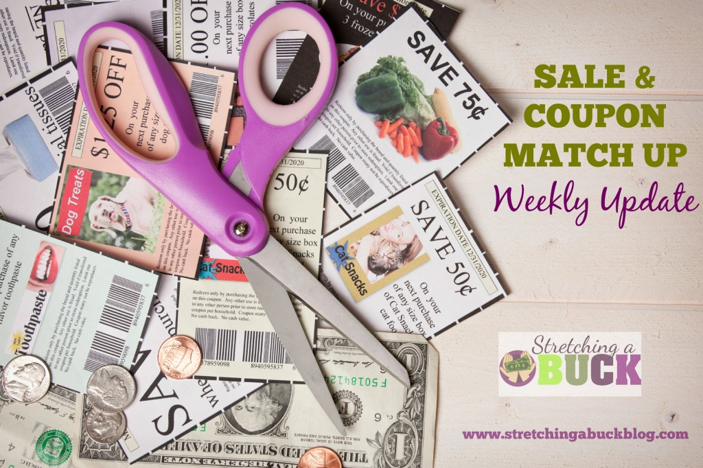 weekly sale and coupon match ups