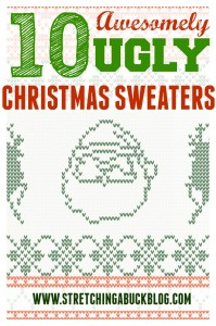 10 ugly christmas sweaters list