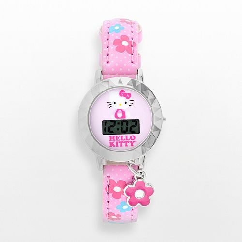 Thumbnail image for Hello Kitty Digital Flower Charm Watch for $6.46 + More
