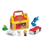 Thumbnail image for Little People Take-Along Fire Station Set for $14.87