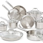 Thumbnail image for T-fal Elegance Stainless Steel 15-Piece Cookware Set for $156.67 Shipped