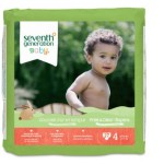 Thumbnail image for Seventh Generation Free & Clear Size 4 Diapers for $0.30 Each Shipped