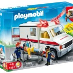 Thumbnail image for Playmobil Rescue Ambulance Set for $15