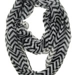 Thumbnail image for Chevron Sheer Infinity Scarf for $4.49 Shipped