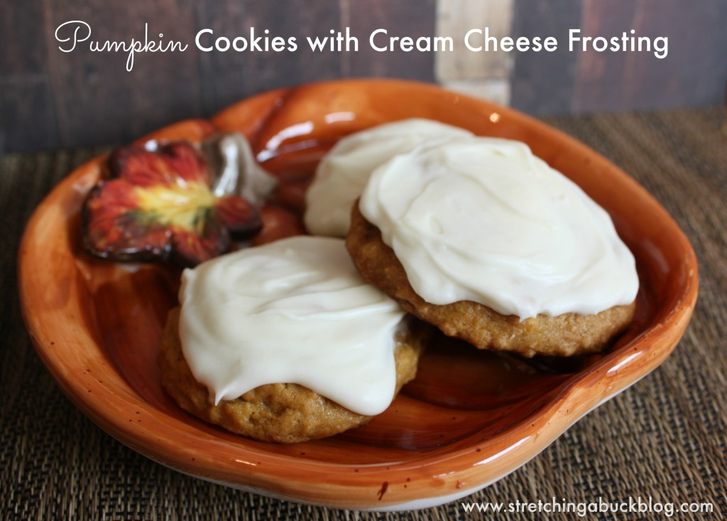best pumpkin cookies with cream cheese frosting recipe