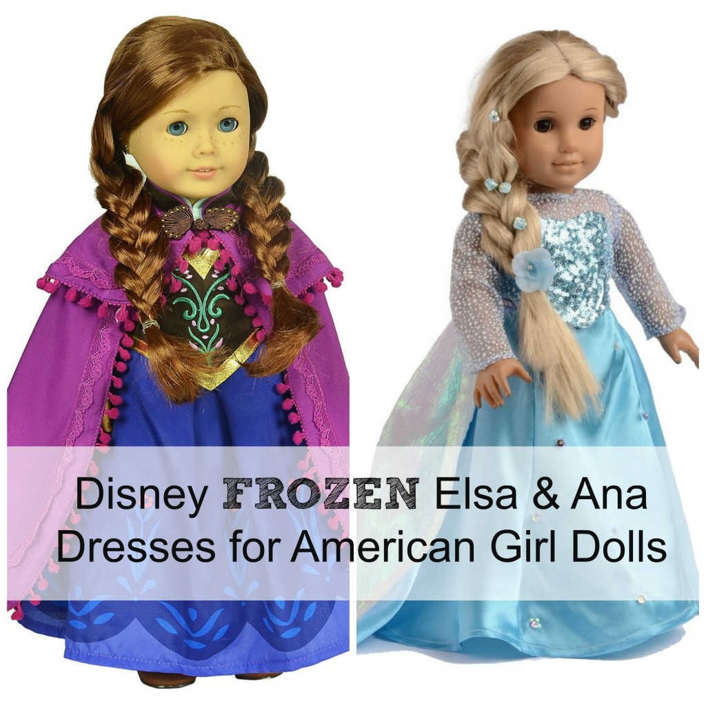 frozen elsa ana dress american girl doll