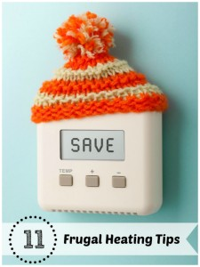 frugal heating tips