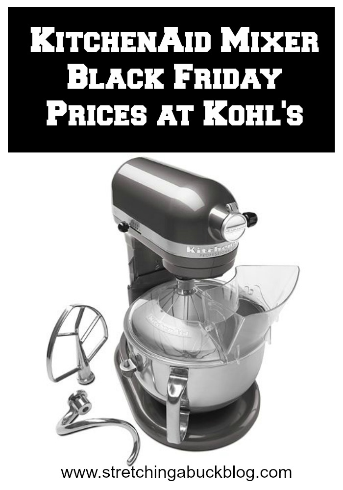 kitchen aid mixer black friday prices at kohls