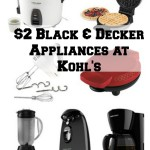 Thumbnail image for Black & Decker Appliances For Less than $2 Each, Shipped