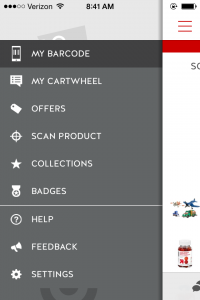 target cartwheel mobile app savings