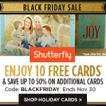 Thumbnail image for Shutterfly Holiday Coupon Codes & Freebies