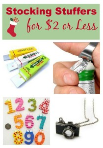 stocking stuffers for less than 2 bucks