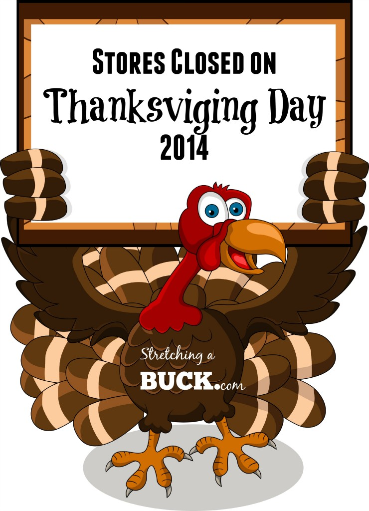 stores closed on thanksgiving day 2014