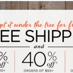 Thumbnail image for Last Day for FREE Shipping + up to 50% off at Shutterfly