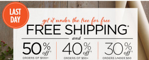 shutterfly free shipping