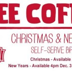 Thumbnail image for Free Coffee at Sheetz on New Years Eve and New Years Day