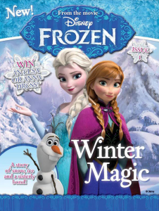 Disney-Frozen-Magazine-Issue