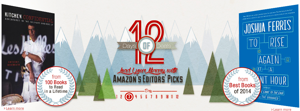 amazon 12 days of books deals