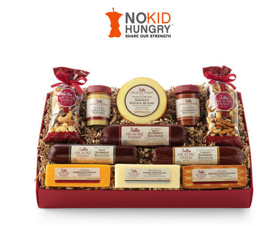 hickory farms no kid hungry