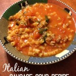 Thumbnail image for Italian Sausage Soup Recipe