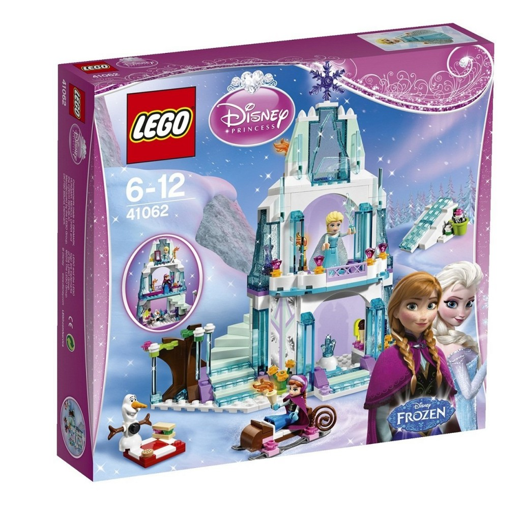 lego disney frozen elsa snow palace