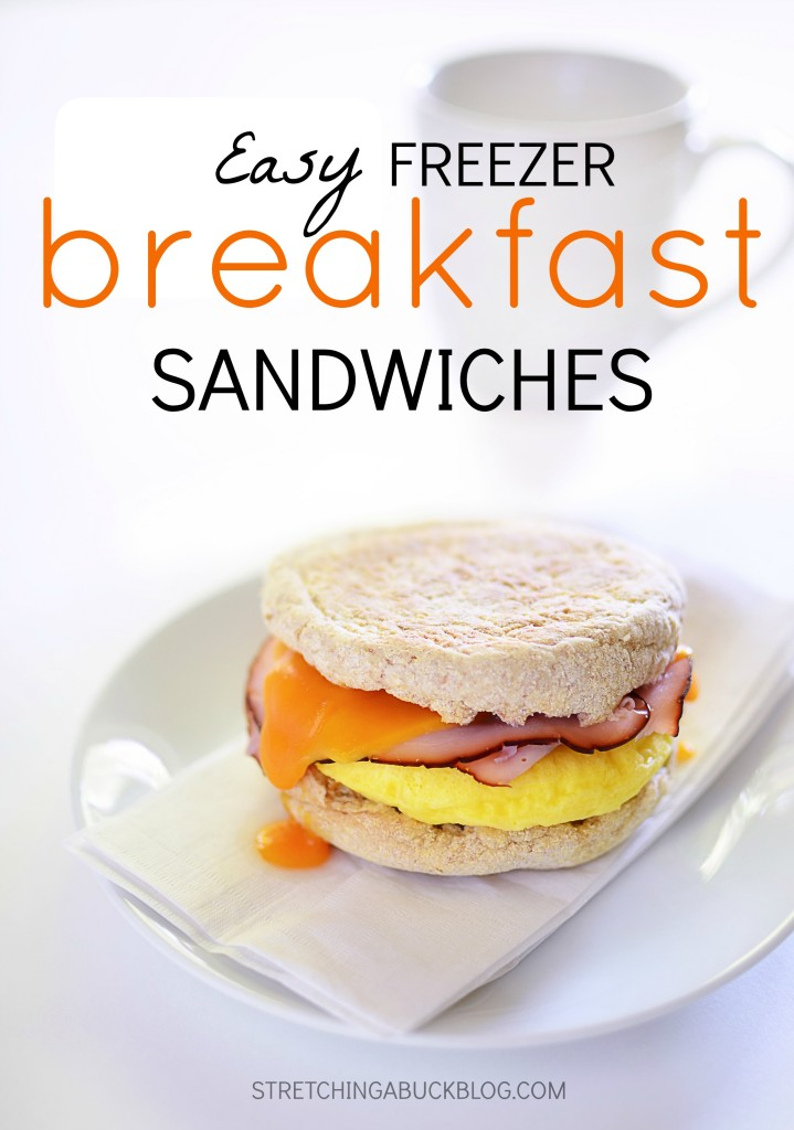 easy freezer breakfast sandwiches recipe