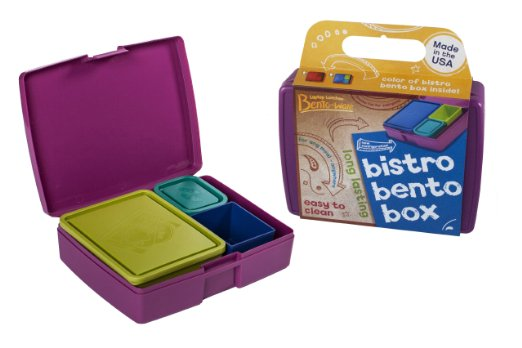 bistro bento lunch box kit for stretching a buck stretching a buck. Black Bedroom Furniture Sets. Home Design Ideas