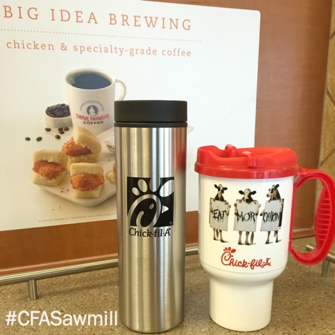 CFA travel mugs