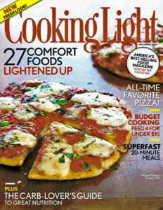 cooking light magazine subscription deal