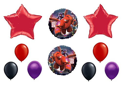 big hero 6 birthday party supplies