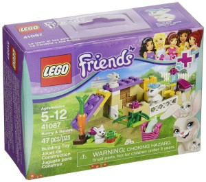lego friends bunny and babies set
